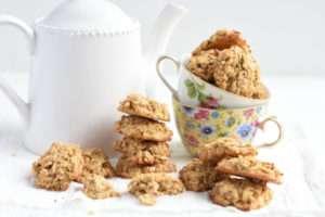 Receta galletas de avena y manzana