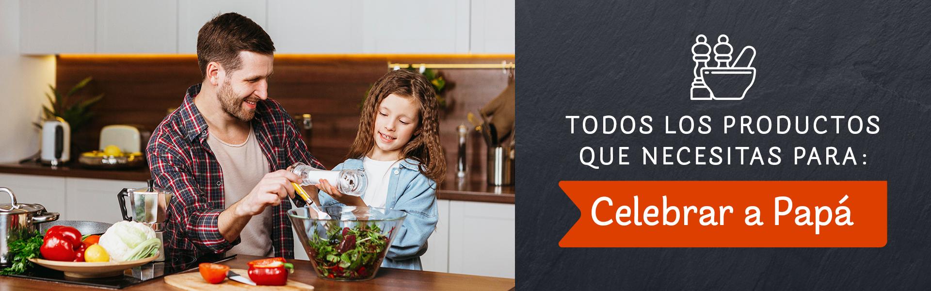 Productos parar cocinar recetas para el día del padre
