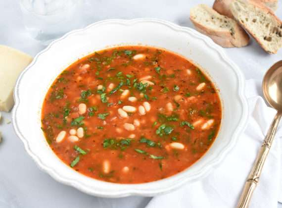 sopa toscana de porotos